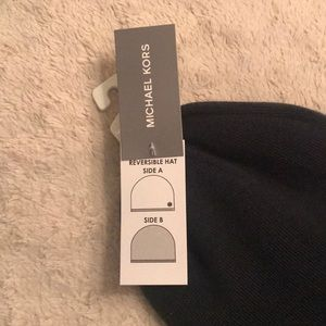 Michael Kors Accessories - Reversible Michael Kors Hat Beanie